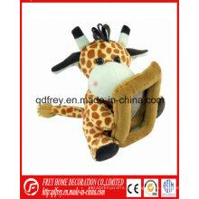 Marco lindo de la foto del juguete de la jirafa para el regalo de la promoción