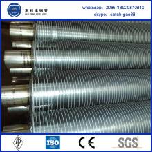 Высококачественный дешевый алюминиевый оребренный медный трубчатый конденсатор
