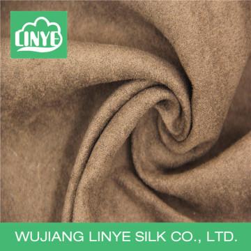 Tissu micro suède pour housse d'oreiller de dossier