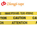 300m non adhesive yellow caution tape