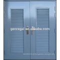 Cor RAL Glavanized grelha de aço porta de metal