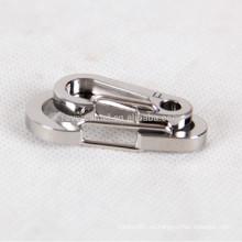 2pcs Titanio aleación keychain personal accesorios llaveros