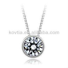 Collier en forme de 925 collier en chaîne en argent sterling et collier pendentif pour flèches