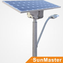 Проект управляемого 5лет гарантии привели солнечные уличные фонари солнечные панели энергии уличного освещения