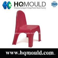 Molde plástico de silla de niños rojos
