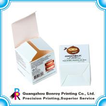 Офсетная печать ламинированных снизу бумаги коробка щелчковой косметики