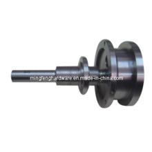 Subcomponentes mecanizados por CNC