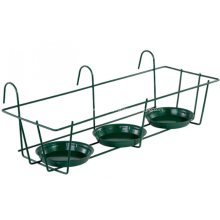 Black wire Wall Mounted Flower Pot  RS-03G