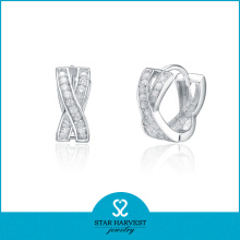 Neueste Design Fashion Sterling Silber Ohrringe