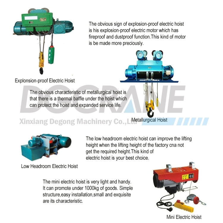 Monorail Electric Hoist