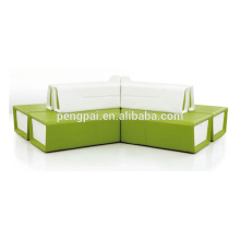 Fashionable sofa design for waiting room