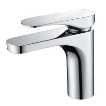 Round temperature control basin faucet