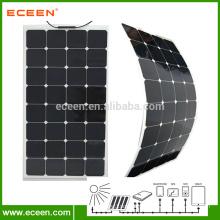 Monocrystal Silicon 100W Flexible Solar Panels