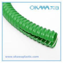 Mangueira reforçada de PVC flexível para proteção de cabos de fio