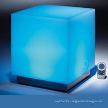 Colorful Lighted Acrylic LED Storage Box Display