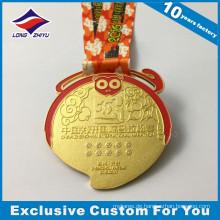 Andenken-Medaille Medaillen-Sport-Militärpreis-Medaille