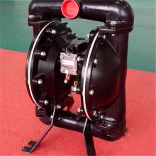 Dispositif pneumatique de pompe de diaphragme de double matériel de téflon