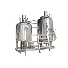 Factory Price Stainless Steel Micro Beer Brewery Brewing Plant 100L 200L Craft Beer Equipment