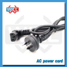 SAA Australia 90 degree power cord plug with IEC C13