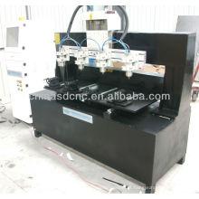 Bom preço cilindro máquina de escultura 4 eixos JK-0825-4 para 3d scrupture gravura