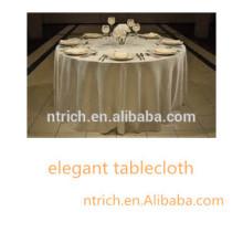 günstige und qualitativ hochwertige Tischdecke für Hochzeit / Bankett / party / Hotel, Polyester Tischdecke, satin Tischdecke