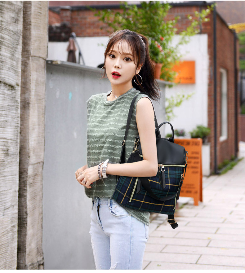 lady double shoulder bags 10236 (2)