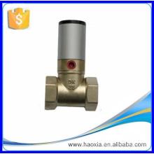 Válvula de pistón neumática de doble acción de alta calidad Q22HD-25
