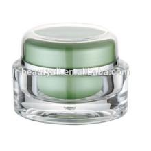 5ml 15ml 30ml 50ml Olla de acrílico de acrílico de los cosméticos del plástico, tarro de acrílico para el empaquetado de los cosméticos