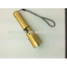 2015 rechargeable led torch light, usb torch, usb flashlight powder bank