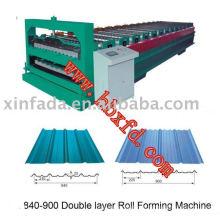 Double Sheet Metal Sheet Roll Forming Machine