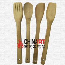 Conjunto de utensilios de cocina de bambú (CB05)