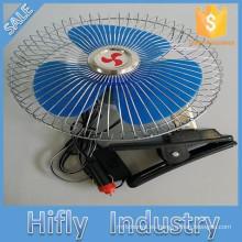 Ventilador auto portátil oscilante del coche de HF-8309 DC 12V / 24V Ventilador auto del coche de 8 pulgadas