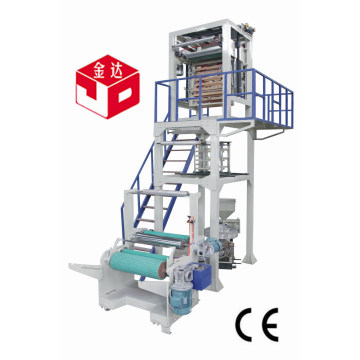 Máquina de soplado de película plástica de HDPE LDPE para bolsa de paquete