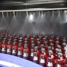 Автоматическое ополаскивание-розлив-укупорка напитков в стеклянных бутылках