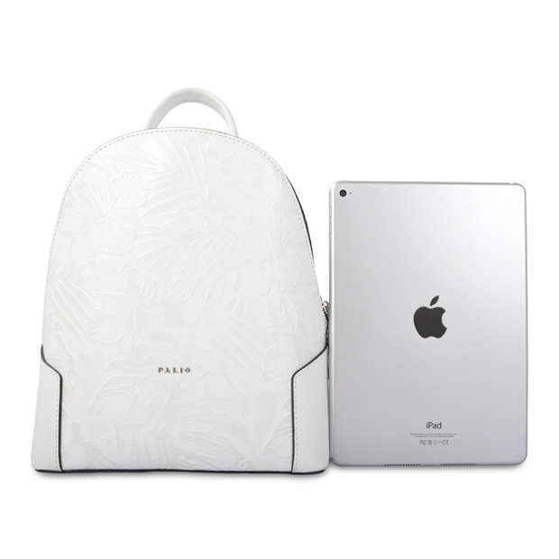 New arrival young laptop leather backpacks