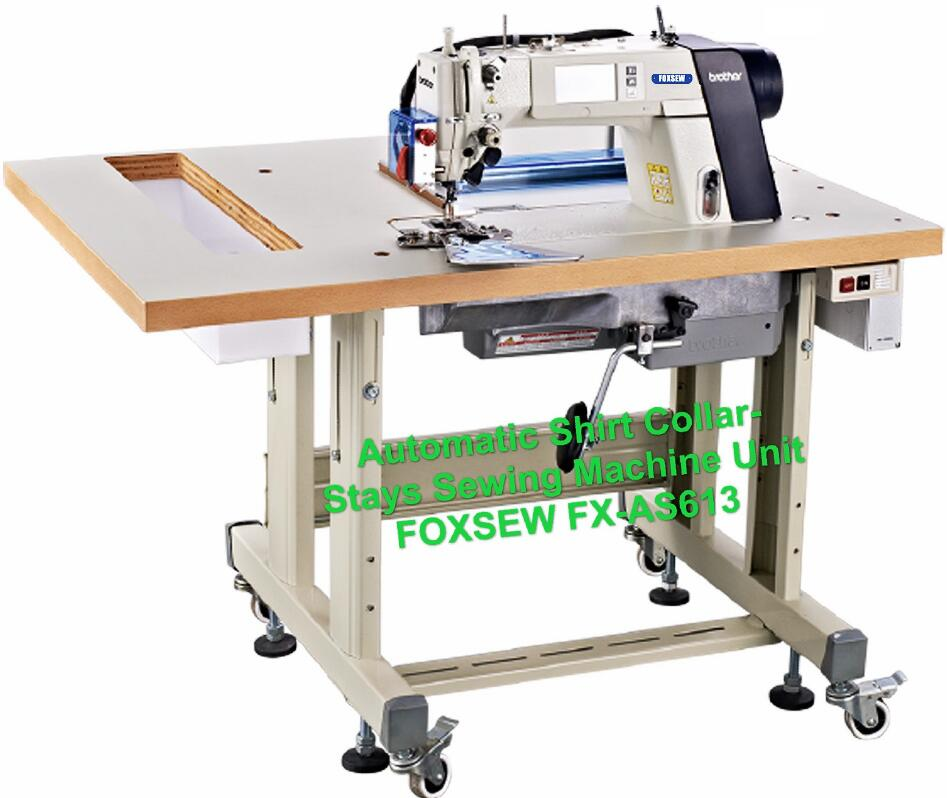 Automatic Shirt Collar-Stays Sewing Machine Unit FOXSEW FX-AS613