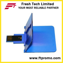 Promotional Credit Card Style USB Flash Drive (D606)