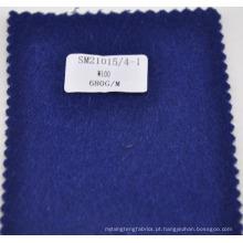 lote de estoque 100% lã inverno overcoating tecido 680g / m