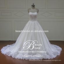 XFM015 Elegante vestido de noiva vestido de noiva com vestidos de noiva de renda desmoldável 2017
