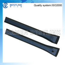Shank Hex 19X108 and 22X108 Chisel Bit Integral Rod