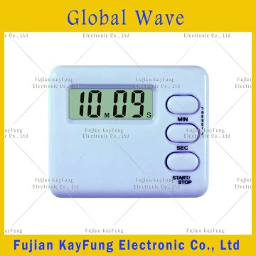 Gw-99 LCD Digital Timer with Magnet and Clip