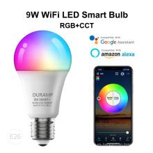 Bombilla inteligente LED WiFi Tuya de 9W
