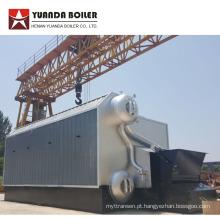 Caldeira a Carvão Automática com Tubo de Água Horizontal