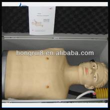 Hochwertiger medizinischer Pneumothorax Behandlungssimulator