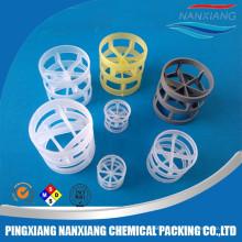 16mm 25mm 38mm 50mm 76mm pp rpp cpvc hdpe pvdf plastic packing pall ring