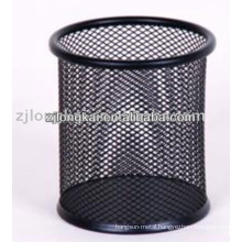 Wholesale fancy cheap metal office pen holder for pencil dsiplay stand