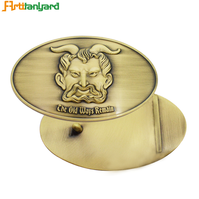 Special Design Belt Buckle With Gold
