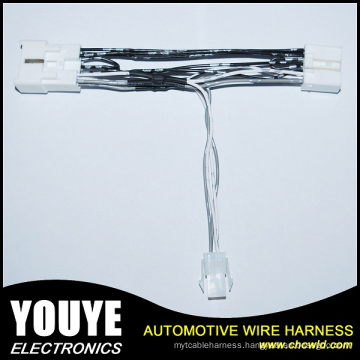 Connector 6 RCA Plug Wire Harness for Car Stereo System