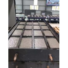 Molde de aço pré-fabricado concreto da sarjeta da caixa