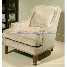 hotel used Linen fabric longe Chaise XYD253